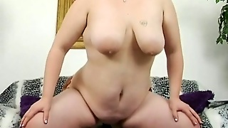 Black Cock For Chubby Bitch