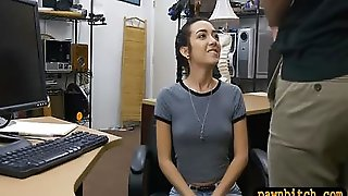 Very Tight Teen Banged By Pawn Keeper At The Pawnshop