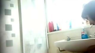 Indian Shower Voyeur Video