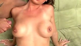 Hard Sex And Cum On Tits