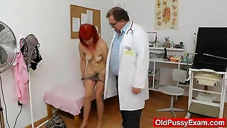 Speculum, Clinic, Mature Fetish, Doctor Fetish, Milf Fetish, Mature And Doctor, Redhead Fetish, Speculum Gyno