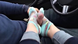 Sock Foot Job 1