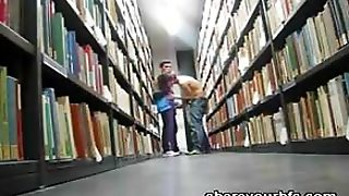 Library Jerkoff