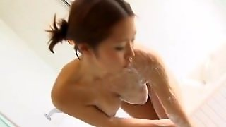 Asian With Big Natural Tits Showers