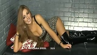 Cara Steel Looking Sexy In Her Boots