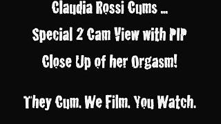 Claudi Rossi Masturbation And Multi-Cam Snapping Orgasm
