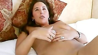 Lisa Is A Long  Brunette Haired Bbw  That Sits On