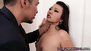 Bdsm Tied Teen Facial