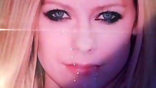 My First Xhamster Tribute On Avril Lavigne Face