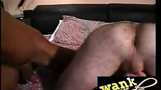 White Guy Get Wanked