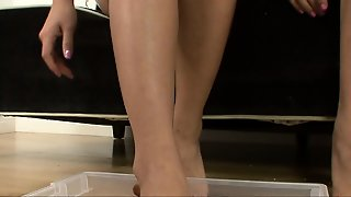 Asian Lesbian Foot Fetish