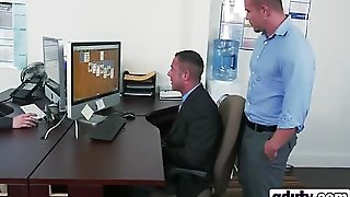 Office Action With 3 Horny Gays