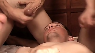 Twink Circle Jerk With Hot Guys Stroking