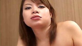 Japanese Tramp Enjoys Sucking Horny Dick