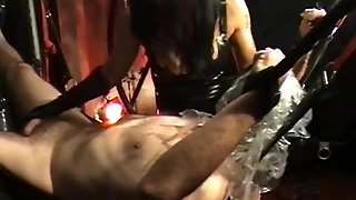 Slave Hanging Gets Suffocates With A Bag By Horney Mistress