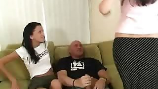 Mom Gives Teen Blowjob Lessons