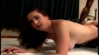 Redhead Works That Black Dick