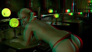 X3D05 Striptease In 3D