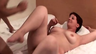 Big Tits Mature Gets Sweet Cunt Banged Hard