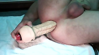 Fisting, Anal, Solo Male