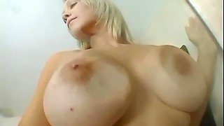 Amazing Big Tits Girl Rubs Her Sexy Pussy