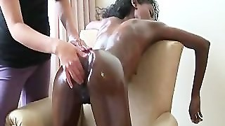Interracial, Lesbian, Girl On Girl, Massage, Interacial, Lesbians, Pussy Licking