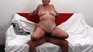 Naked Aunt Fucking With A Guy