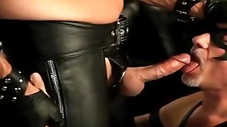 Old Men In Leather