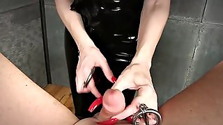 Mistress Nikita Sounding Slave
