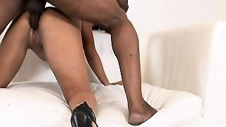 Latina Teen Slut Gets An Interracial Pounding