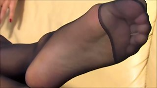 Black Nylon Feet