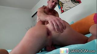 Latino Masturbating