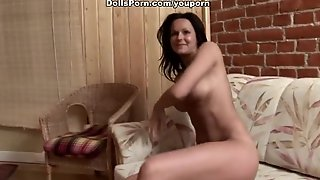 Group Sex With A Busty Brunette