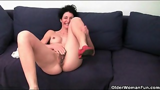 Firm Body And Hairy Mature Pussy On Sexy Mature