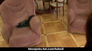 Amateur Gives Really Hot Blowjob Here