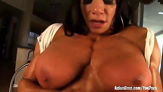 Aziani Iron Marina Lopez Female Bodybuilder Nude