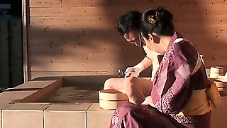 Mature Japanese Stud In Mood For A Fine Slick Geisha Pussy