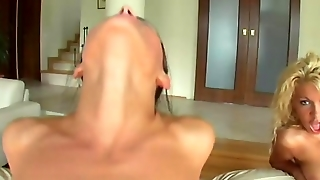 Sperm Swap Horny Lesbians Enjoy Swapping There Mans Cumshot