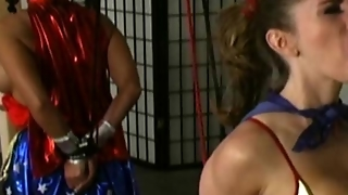 Superheroines Torture Each Other