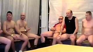 Real Gangbang With Skinny Teen