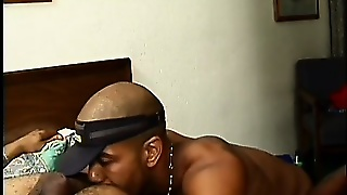 Righteous Rimjobs, Blowjobs And Ass Fucking With This Pack Of Horny Black Studs