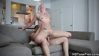 Sexy Teen Pounded Doggystyle