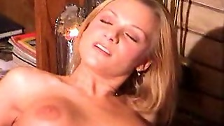Blonde Shemale And Girl In 69 Style Oral Sex