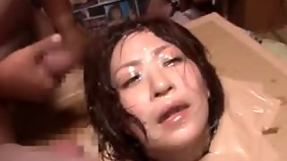Dirty Asian Bitch Trapped In A Box Hardcore Bukkaked