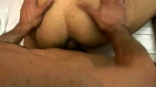 Hot Threesome Bareback Of Latinos And Black