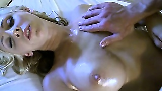 Wild Cowgirl Riding After Massage