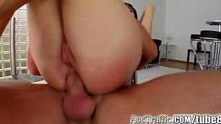 Ass Traffic Liz's Ass Is Fucked Up With A Large Cock