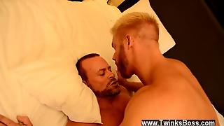 Male Models The Boss Gets Some Muscle Ass
