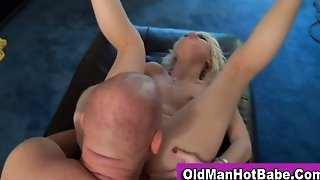 Rebecca Blue Fucking An Old Man