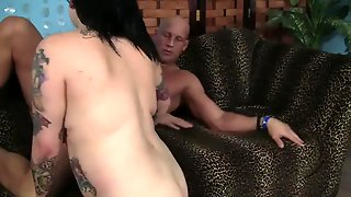 Cumshot Brunette On Tits